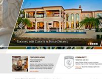 Akers Custom Homes - web design