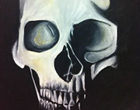 Painting - Skull