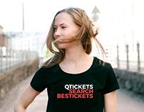 """Логотип для сервиса """"Qtickets"""""""