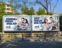 Iconova Daire Teslim Kampanyası