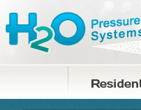 H2O Pressure Wash website