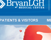 BryanLGH website redesign