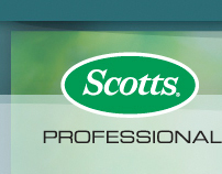 Scotts Pro Hort website design