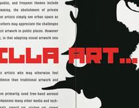 Guerilla Art Magazine Article