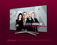BASIN ODASI | POLITICAL PROG. OPENER & GRAPHIC PACKAGE