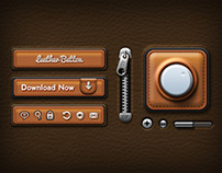 Leather UI Elements