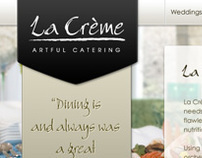 La Creme Website Design