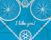 I bike you!