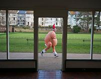Santa Fun Run, Hastings. UK