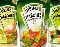 Design Heinz mayo for Russian and CIS markets.