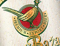 PET bottlle for «Zlaty Bazant».