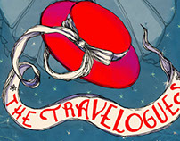 The Travelogues // Poster and postcards