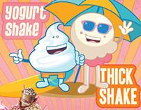 Baskin Robbin | Shakes Campaign