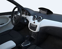 Interior redesign of Dacia Sandero