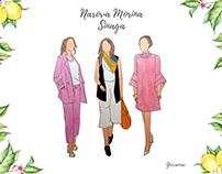 Narova M. S - Fashion Illustration
