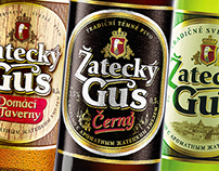 """Zatecky Gus"" - new brand creation."