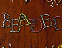 Beaded: A Display Typeface