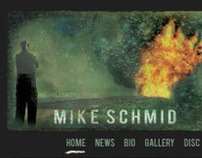 Mike Schmid Website Design