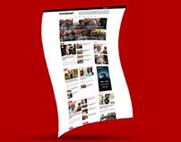 Website Design Presentation for Newsbreak365