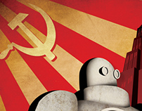 retro posters ROBOT