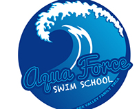 Aqua Force Swim School Logo