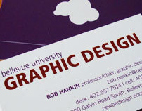 Graphic Design program business cards