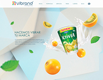 Vibrand Website - Branding Group