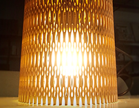 Living Hinges Lamps
