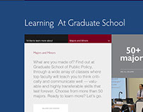 Graduate School of Public Policy User Interface