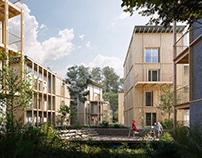 Housing in Biganos (France)