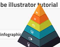 Create pyramid infographic in Adobe Illustrator