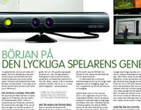 Tidningsartikel om Kinect