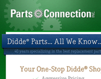 Parts Connection Website Redesign