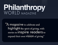 Philanthropy World Graphic Design