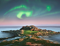 Lofoten Links, at 68˚ north
