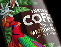 Mosin Fresh Instant Coffee - Website Imagery
