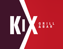 Kix | Grill & Bar Restaurant Branding