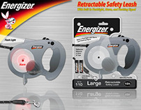 Energizer Retractable Safety Dog Leash