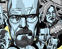 Breaking Bad film posters