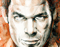 Illustration - Dexter Morgan - The Dark Passenger