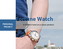 Fortune Wrist Watch