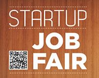 Startup Job Fair Poster