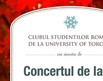 RSC 2011 Christmas Concert Poster