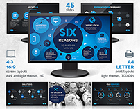 Six Powerpoint & Keynote Template
