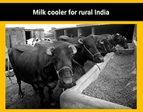 Milk cooler for rural India
