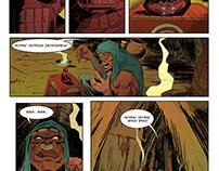 """Jack Eridon issue 02 """"Voodoo""""- graphic novel"""