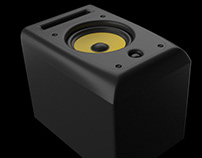 Speaker Realistic 3D Product Animation Rendering