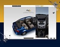 MicroSitio Chevrolet Sail