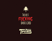 Triton - The Best fucking xmas card