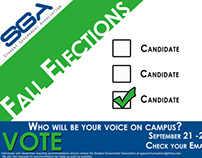 Student Government Association Fall Elections